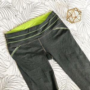 Athleta • Lime & Grey Capri Workout Pants